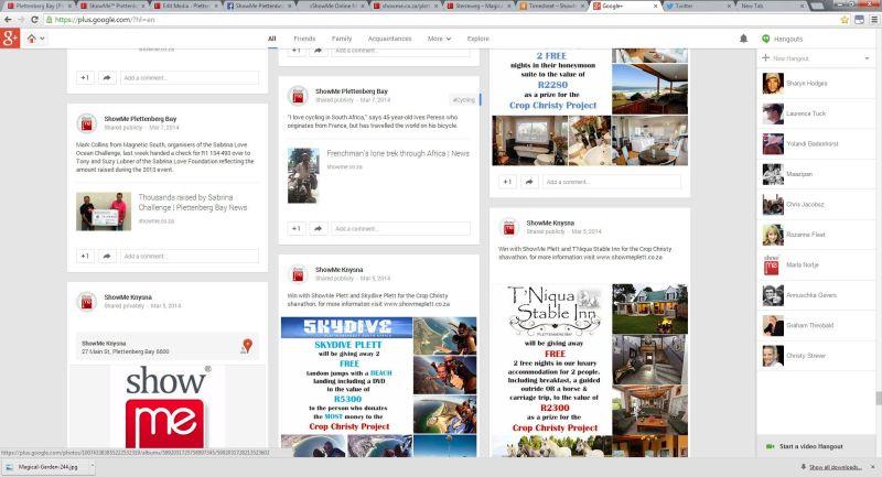 ShowMe Google Plus